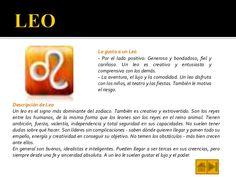 leo zodiaco personalidad - Buscar con Google