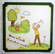 Meine Motivstanzer: Golfsport