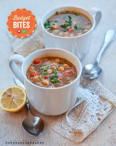supergolden bakes: Revithosoupa - Greek chickpea soup