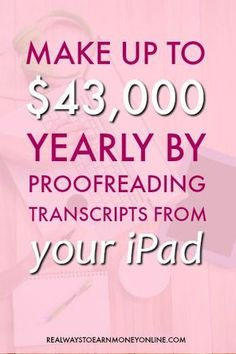 Start your Fast and Easy Intern Business - Working from home as a court transcript proofreader - interview with Caitlin Pyle. via Real Ways to Earn Earn Money From Home, Earn Money Online, Online Jobs, Way To Make Money, How To Make, Making Money From Home, Online Websites, Work From Home Opportunities, Work From Home Jobs