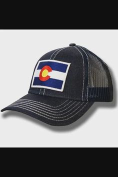 Shop Colorado State Flag Denim Baseball Hat Adjustable Cap now save up 50% off, free shipping worldwide and free gift, Support wholesale quotation! Cool Baseball Caps, Baseball Hats, Colorado State Flag, Quotation, Caps Hats, Free Gifts, Free Shipping, Denim, Shop