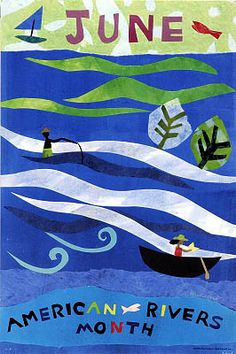 June: American Rivers Month / M. Arenson (1999)