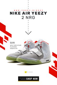 573ef2a5 exclusibe sneakers - Nike Air Yeezy 2 NRG Wolf Grey/Pure PLATINUM 508214  010 in