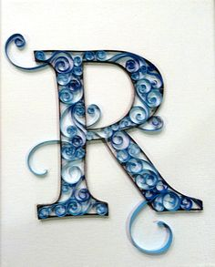 R paper quilling