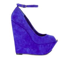 Purple Heels. I would break my neck in these but they're amazing!