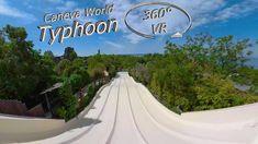 Caneva World 2019 Typhoon VR Onslide Aqua, Music Clips, Videos, Youtube, World, Waves, Water, The World, Youtubers