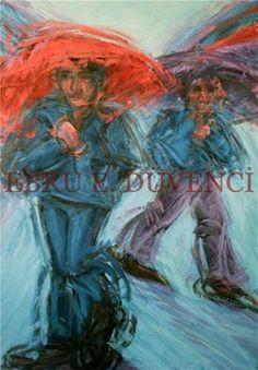 "Saatchi Online Artist Ebru E Duvenci; Painting, ""untitled, 2008, oil on canvas, 100x80cm"" #art"