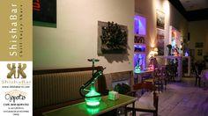 Ambiente en Ojopatio con las shishas o cachimbas o narguiles de ShishaBar by Narguile Club.