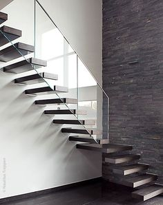 1000 images about modern stairs balusters and newels on pinterest glass railing modern. Black Bedroom Furniture Sets. Home Design Ideas