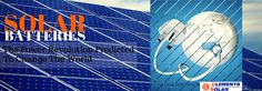 Solar Batteries- The Power Revolution Predicted To Change The World | Clements Airconditioning