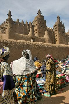 Djenne, Mopti, Mali