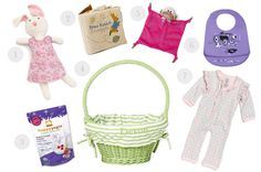 7 Ideas for baby's Easter basket #Easter #EasterBasket #Baby