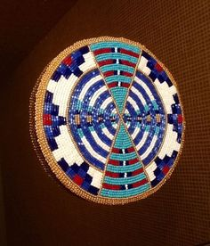 The talent and patience that goes into Native American beadwork is truly a stunning artform! Indian Beadwork, Native Beadwork, Native American Beadwork, Native American Crafts, Native American Fashion, Loom Beading, Beading Patterns, Beading Ideas, Beading Projects