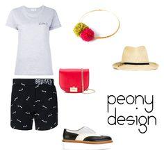 """Peony Design"" by teri-peony on Polyvore featuring Maison Labiche, Zoe Karssen, STELLA McCARTNEY, Tod's and Victoria Beckham"