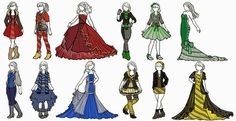 I absolutely love these hogwarts house inspired fashion looks