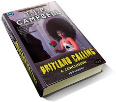 luxury 3d book cover of T.J.P. CAMPBELL's books (covers also by the author).Luxury 3D book cover of T.J.P. CAMPBELL's books (covers also by the author). This is book 4 in the Britland Calling Series. The cover features Spade of the Four Playing Card Suits. She is talking to a chained mute, though telepathic, gorilla.