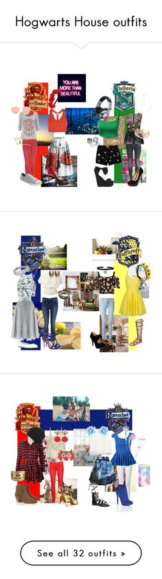 Designer Clothes, Shoes & Bags for Women Harry Potter Style, Casual Cosplay, Hogwarts Houses, Marchesa, Marc Jacobs, Lost, Geek, House Styles, My Style