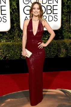 Olivia Wilde in Michael Kors - golden globes 2016: red carpet. ❥❣ @EstellaSeraphim ❣❥