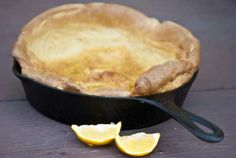 Clean Eating Dutch Baby
