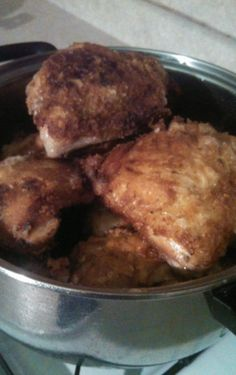 Amish Chicken, Anyone?... Amish Oven Fried Chicken & The Amish Cook's Chicken Coating !!!
