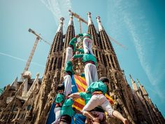 What does a 36-ft-tall human tower have to do with Catalan independence? @Smithsonian Folklife