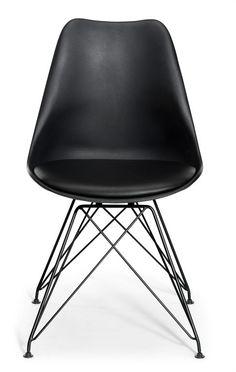Paris stol - Sort, bilka 399 kr