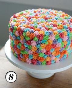Crazy Colour Cake