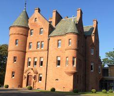Fonab Castle hotel in Pitlochry