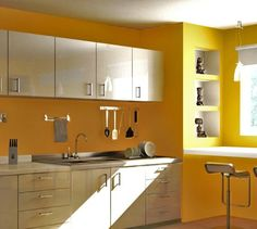 Image detail for -yellow kitchen colors , yellow kitchen design , yellow kitchen ideas ...
