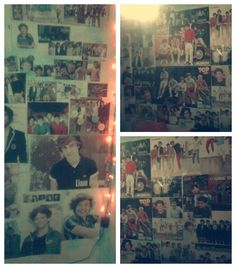 """Fan wall! """"That's my room (: Argentina loves 1D ♥"""""""