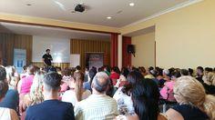 Ayer en Telde más de 130 personas nos acompañaron en nuestra conferencia. Hoy última conferencia en Las Palmas!