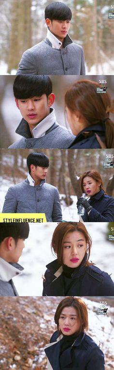 [Korean Drama Fashion] My Love From Another Star, Kim Soo Hyun & Jun Ji Hyun – Thom Browne Cashmere Coat, Reversible Double Collar Trench Coat