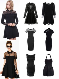 ·Colores, Talles y Precio según el modelo· #VestidoNegro #Elegante #Shalala #Fiesta #Noche #Vestido #Ropa #Encaje