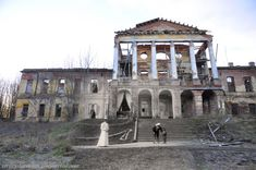 Ropsha Palace edit-then and now   Romanovs