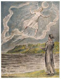 Wandering moon - William Blake