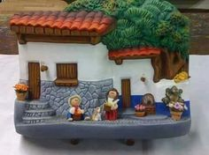 Fairy Houses, Minion, Diorama, Gingerbread, Cottage, Clay, Diy Crafts, Dolls, End Of The World