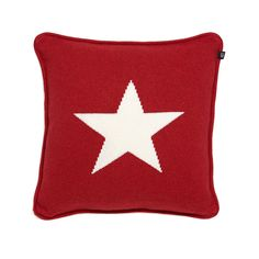 Gant Home Big Star Knit Punainen Tyyny