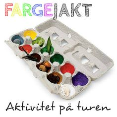 We love this idea for a color scavenger hunt, because it repurposes an egg carton! This is an easy DIY activity, helps kids learn colors and the egg carton acts as a carrying case for your little treasures. Craft Activities For Kids, Preschool Crafts, Toddler Activities, Kids Crafts, Arts And Crafts, Craft Ideas, Summer Activities, Spring Crafts For Kids, Fall Crafts