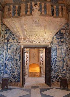 Chapel of castle, Estremoz, Portugal
