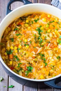 Vegetarian Cabbage Soup  - CountryLiving.com