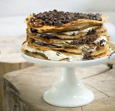 Pandekage Lagkage med chokolade – Få den skønne opskrift her