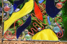 Stained Glass Yard Art 'Happy Days' Garden by WindsongGlassStudio, $139.00