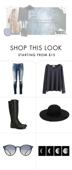 """""""you got me puttin time in, time in, nobody got me feelin this way"""" by tkcostner ❤ liked on Polyvore featuring rag & bone, WithChic, Tory Burch, Ray-Ban, WALL, Sharpie, clothes, beoriginal and polyvoreset"""