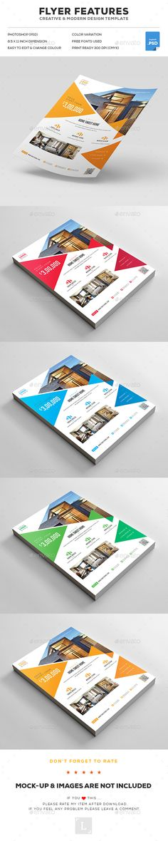 #Real Estate Flyer - Flyers Print Templates Download here…