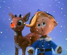 "Rudolph the Red-Nosed Reindeer is a fictional reindeer with a glowing red nose. He is popularly known as ""Santa's Reindeer"" and, when depicted, is the lead reindeer pulling Santa's sleigh on Christmas Eve."