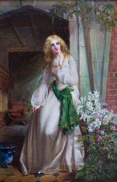 Risultati immagini per william maw egley Elizabeth Siddal, My Family History, Pre Raphaelite, Victorian Art, Traditional Paintings, Love Symbols, Old Master, Renaissance Art, Dame