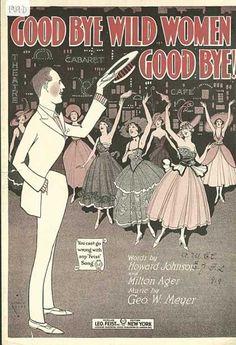 Vintage. Sheet Music