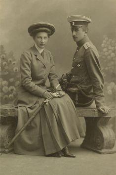Princess Tatiana Constantinovna and Prince Constantine Bagration-Mukhransky