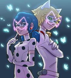 Hawk Moth posses Ladybug and Chat Noir<<<<<< that would be so cool!!! <<<<<< then the villains they faced before would save them