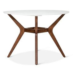 """kitchen -- not feeling this    Westbrook Mid Century 42"""" Round Dining Table - Threshold™ : Target"""